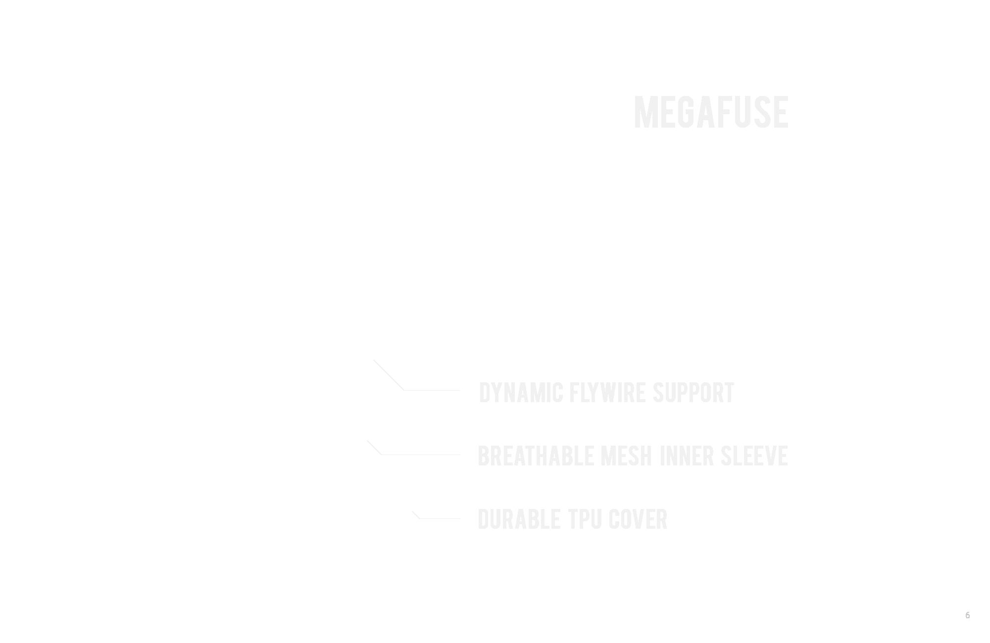LEBRON 12 的後跟填充與形狀設計打造了良好的保護空間,雙翼的 Hyperposite 提供了強大側向支撐,而且在 LEBRON 12 與相同採用 Hyperposite 的 LEBRON 11 的最大不同點就是「靈活度」的提升,只在球員需要的位置加入 Hyperposite,大幅刨除不需要的部份並刻畫出動態溝槽,同時享有支撐與靈活度。從鞋面可以清楚見到 LEBRON 12 對於前掌外側穩定的重視,另外腳踝包覆的部分讓 Hyperposite 藉由鞋帶環的整合與鞋身內襯填充連成一氣,拉緊就產生複合式的包覆,用簡單的原理讓人感受到設計時周全的考量。