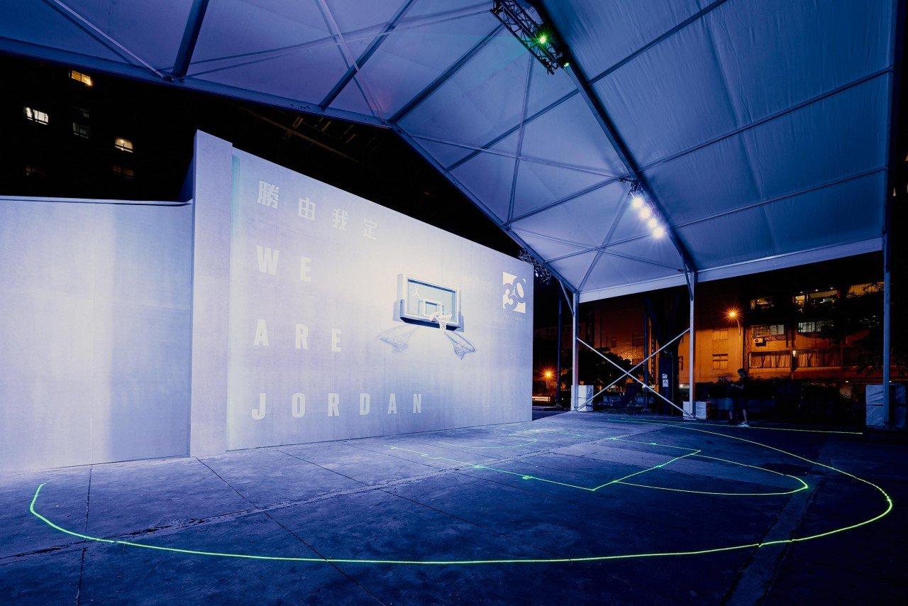 Jordan-飛翔總署_夜間雷射球場體驗最新CP3.IX科技-1280x854