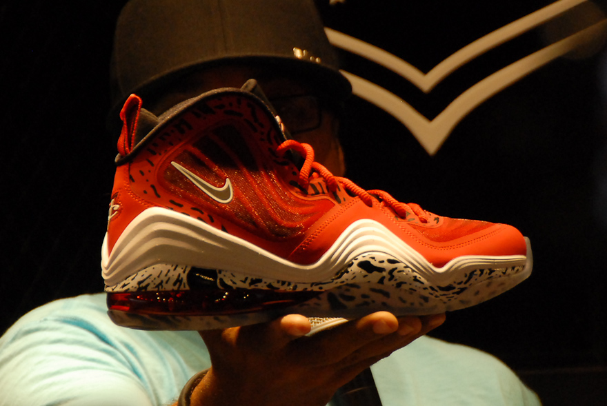 NIKE AIR PENNY V 'Red Eagle'