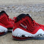 "Nike Air Penny V ""Red Eagle"" 實鞋圖"