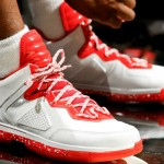選手實著 / Dwyane Wade 著用 Li-Ning Way of Wade 白紅配色