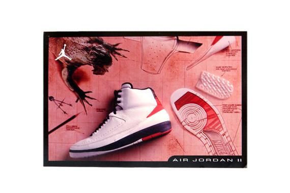 """Air Jordan II third version - Air Jordan II """"Doernbecher""""."""