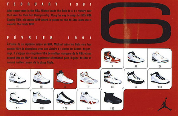 Air Jordan VI – 2000 and 2002