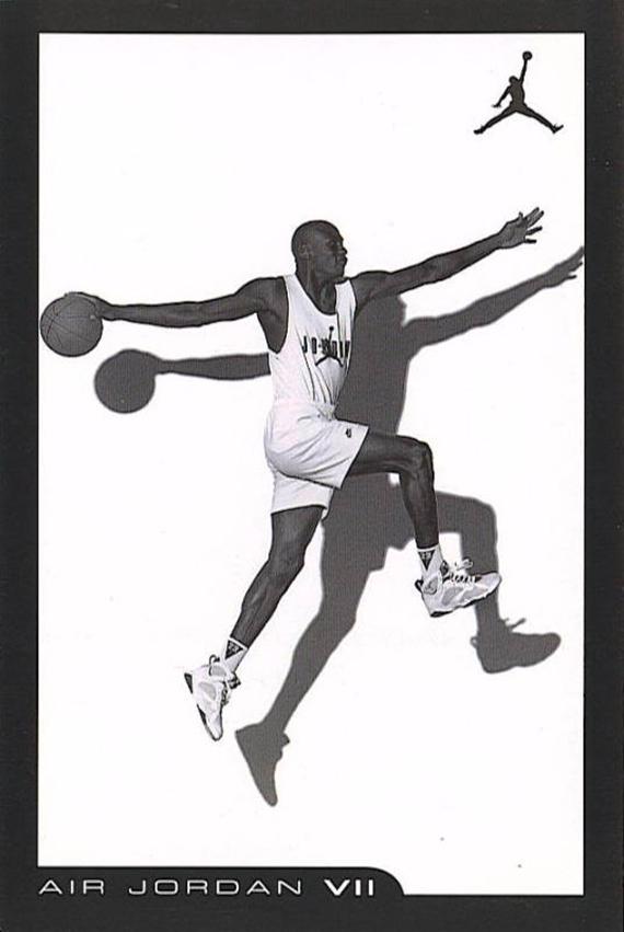 Air Jordan VII third version black / white –  2006