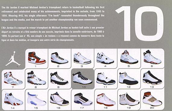 Air Jordan X – 2005