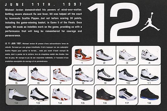 Air Jordan XII – 2003 and 2009