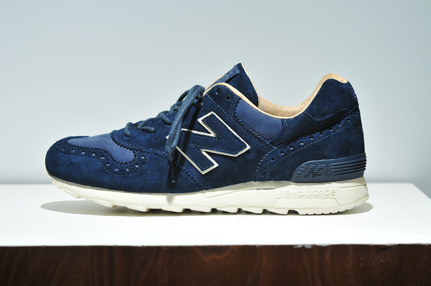 INVINCIBLE x New Balance 1400 Navy Brogue