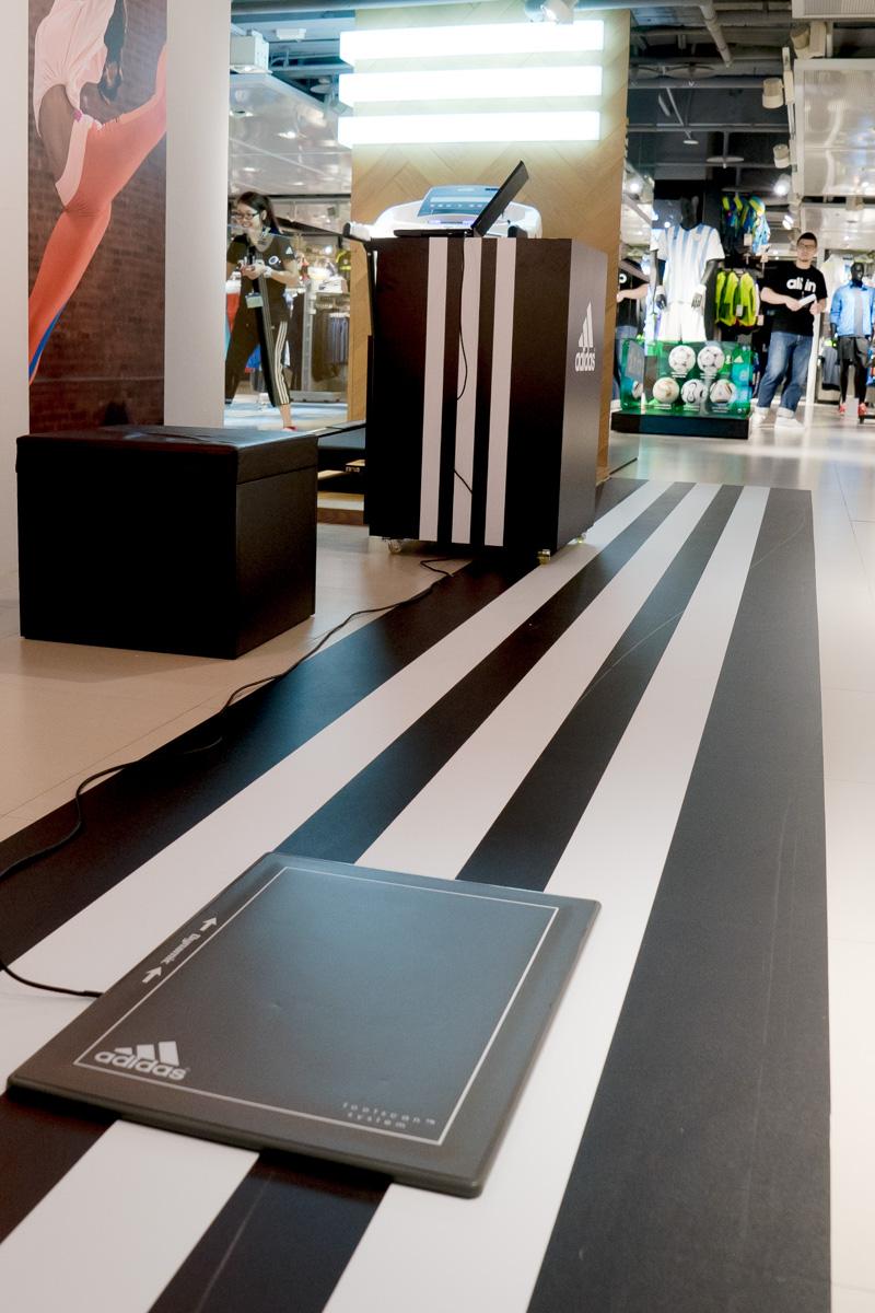 adidas test running