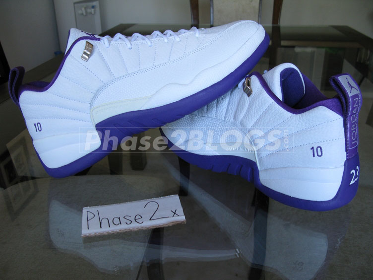 the best attitude 160af da108 mike-bibby-air-jordan-xii-12-low-sacramento-
