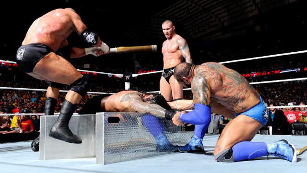 Batista Payback Evolution Triple H Randy Orton Bluetista