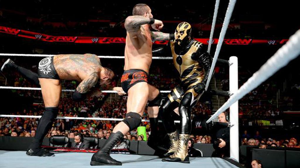 Batista Raw Randy Orton Evolution Rhodes Brothers Goldust