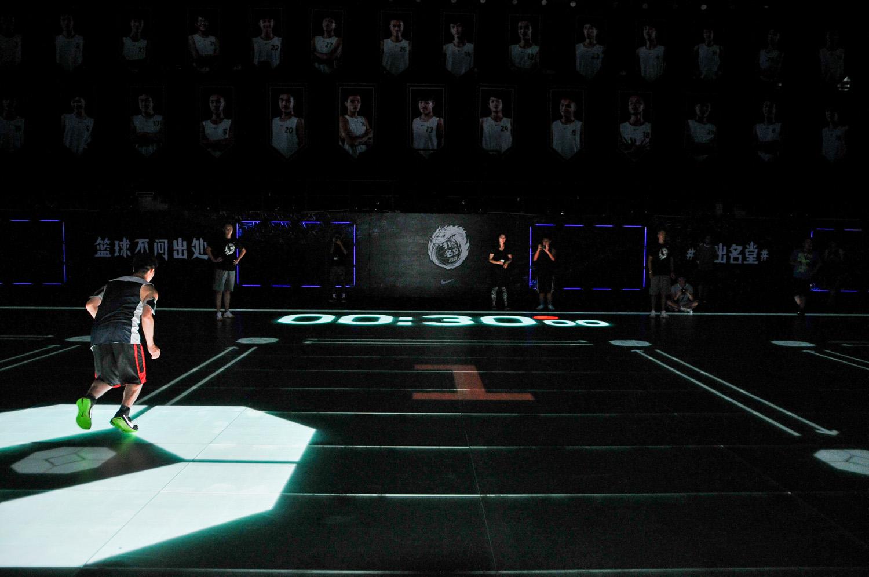 #打出名堂 / 黑曼巴數位互動球場 全球初體驗