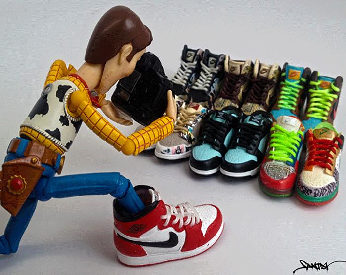 Santlov-x-NiceKicks-Toys-Are-Like-Us-Sneaker-Series-woody-collector
