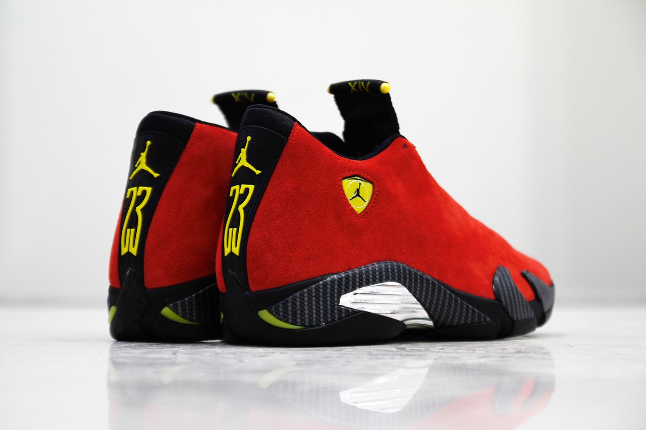 sports shoes fec16 a30de ... reduced air jordan 14 retro ferrari 6 9b492 a80c9 ...