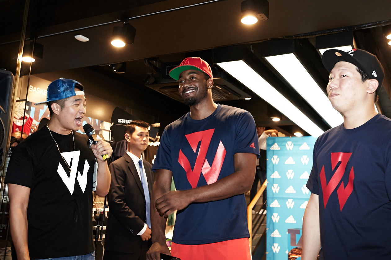 adidas John Wall Take on Summer Tour in Seoul, South Korea, 7