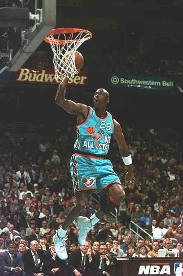MJ 1996 allstar