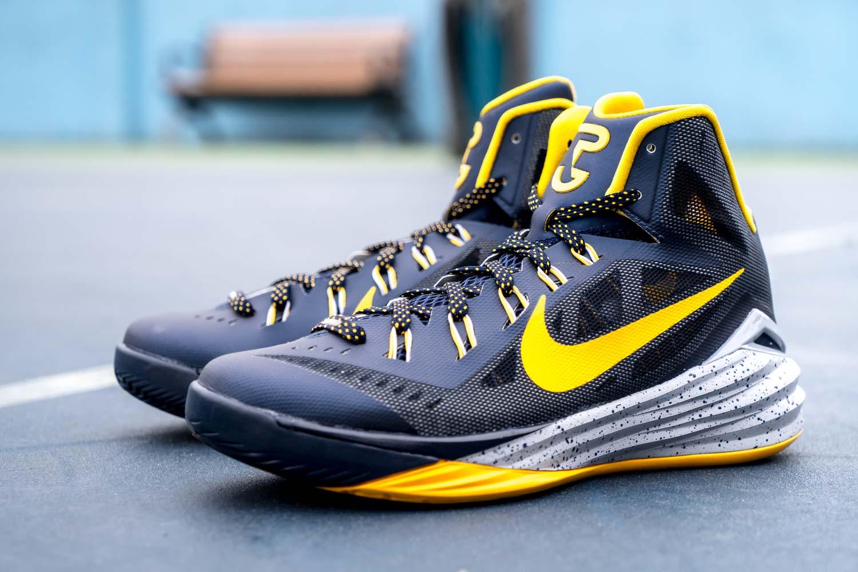 Nike Hyperdunk 2014 Purple Orange 2014 Mens Basketball ... |Paul George Shoes Hyperdunk 2014