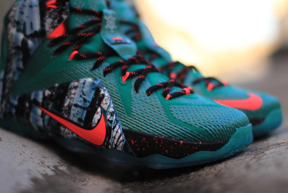 lebron 12 christmas releases 4                Nike LeBron 12    Lebron 12 Christmas