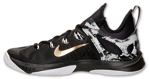 detailed look dc517 5cabf nike-hyperrev-2015-paul-george-black-white-gold-
