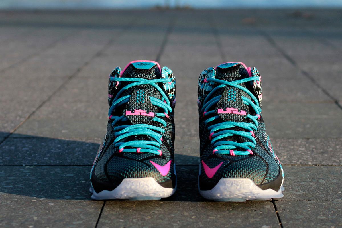 hot sale online f4d0f 377d2 Cheap Online 2015 Nike LeBron 12 23 Chromosomes | Phoenix Managed ...