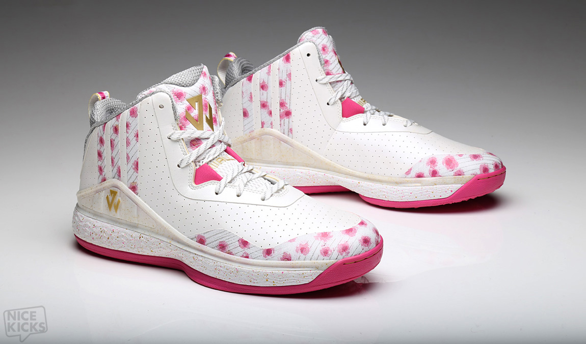 new style d382c 6cbcb ... store adidas j wall 1 cherry blossom kenlu a6128 e48c3 ...