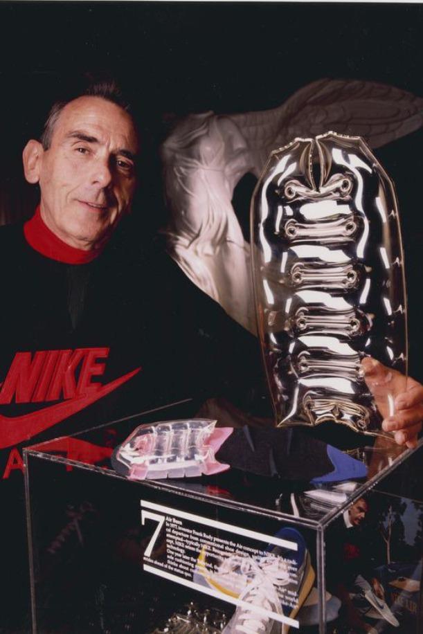 Frank Marion Rudy 是打造 Nike Air 氣墊的發明家