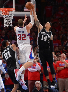 NBA: Playoffs-San Antonio Spurs at Los Angeles Clippers