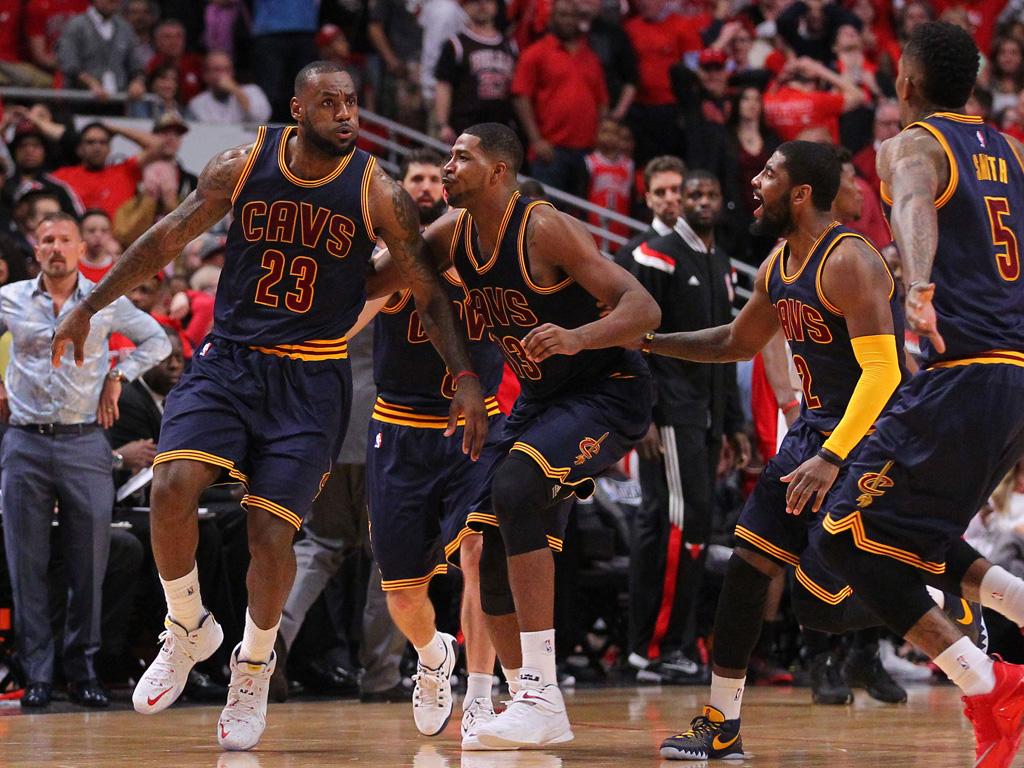NBA: Playoffs-Cleveland Cavaliers at Chicago Bulls