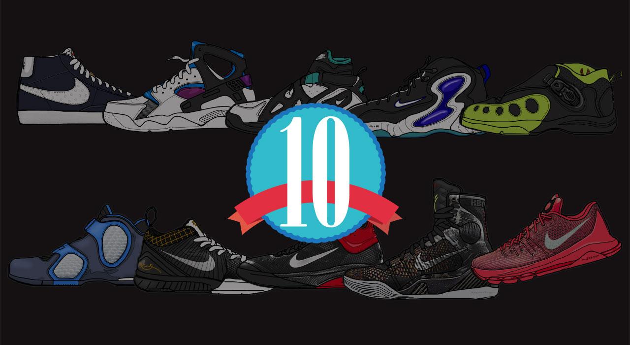 性能先決 / NIKE的10款鞋面科技特色球鞋回顧