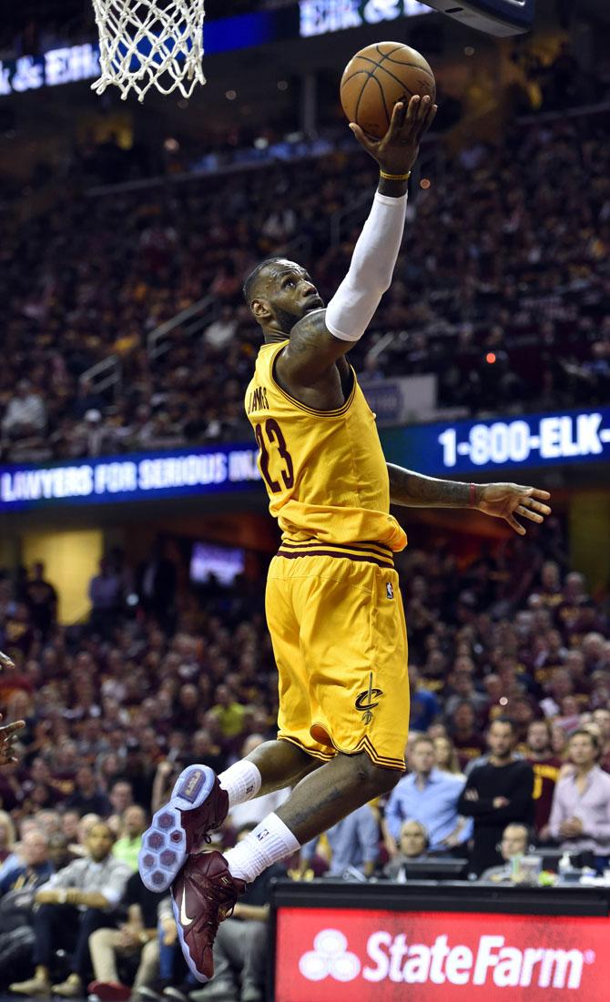 NBA: Playoffs-Golden State Warriors at Cleveland Cavaliers