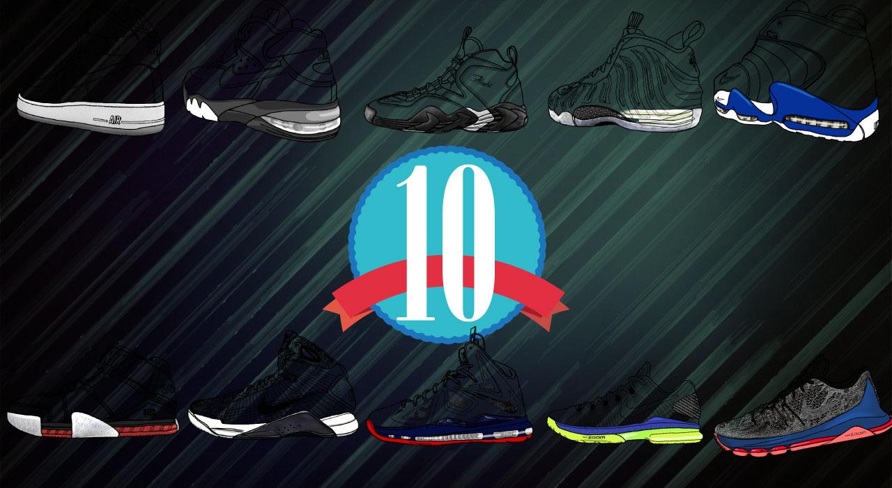 性能先決 / NIKE的10款氣墊科技特色球鞋回顧