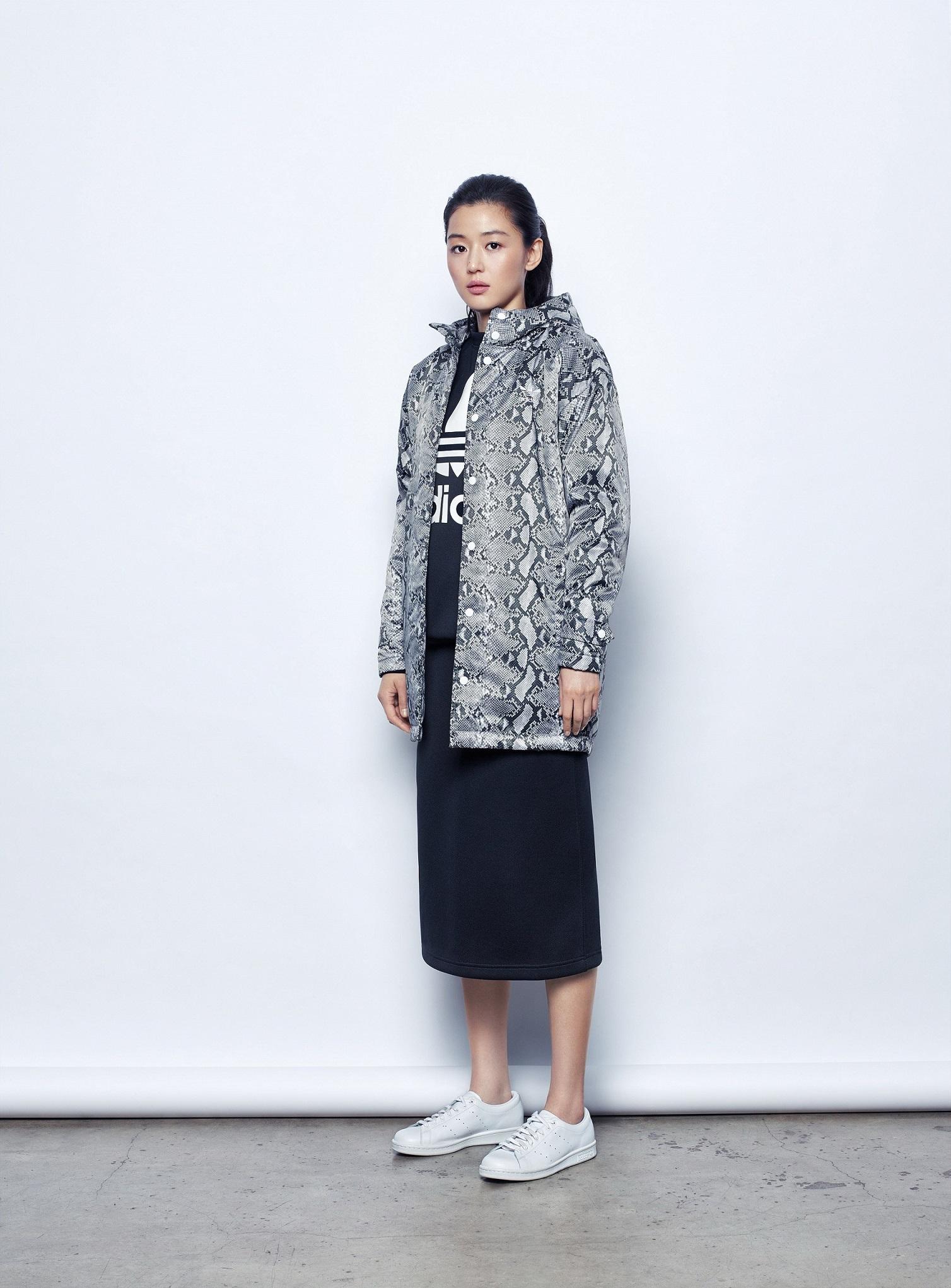 Adidas Originals By Hyke 15 秋冬系列 全智賢形象照 Kenlu Net
