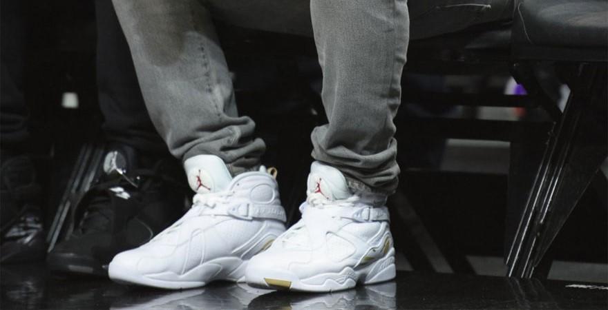 size 40 5cae1 bd768 名人實著/ Drake 著用Air Jordan 8 'OVO' – KENLU.net