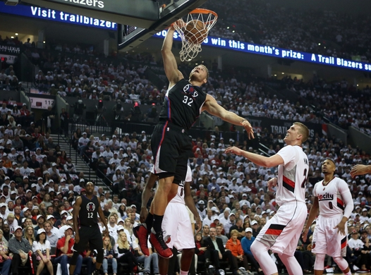 NBA: Playoffs-Los Angeles Clippers at Portland Trail Blazers