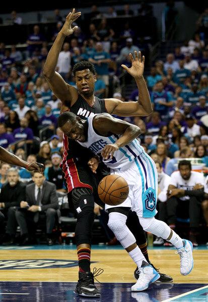 Miami+Heat+v+Charlotte+Hornets+Game+Four+XNGJXn9ARIkl