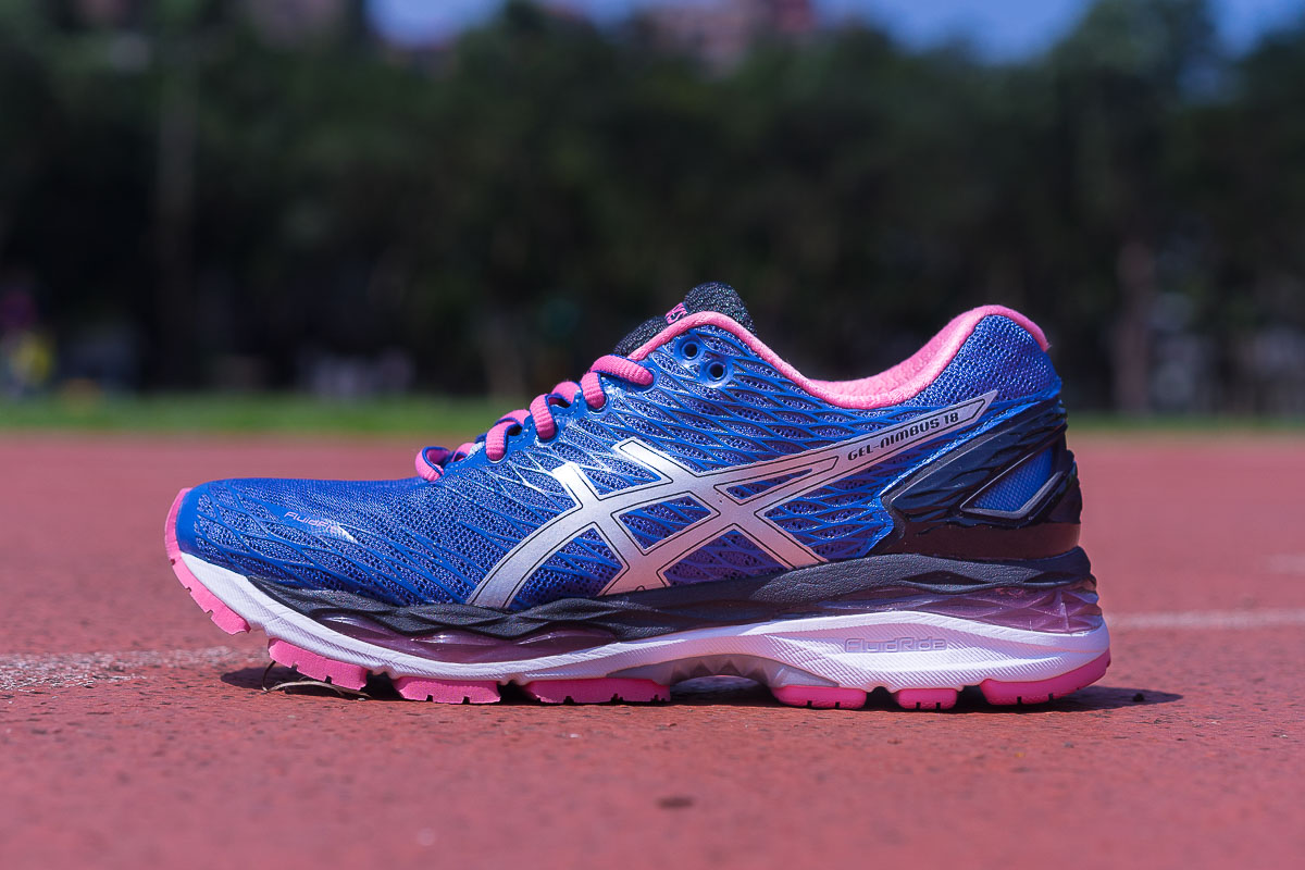 Asics Gel Nimbus 18 Women's Running Shoes rebel