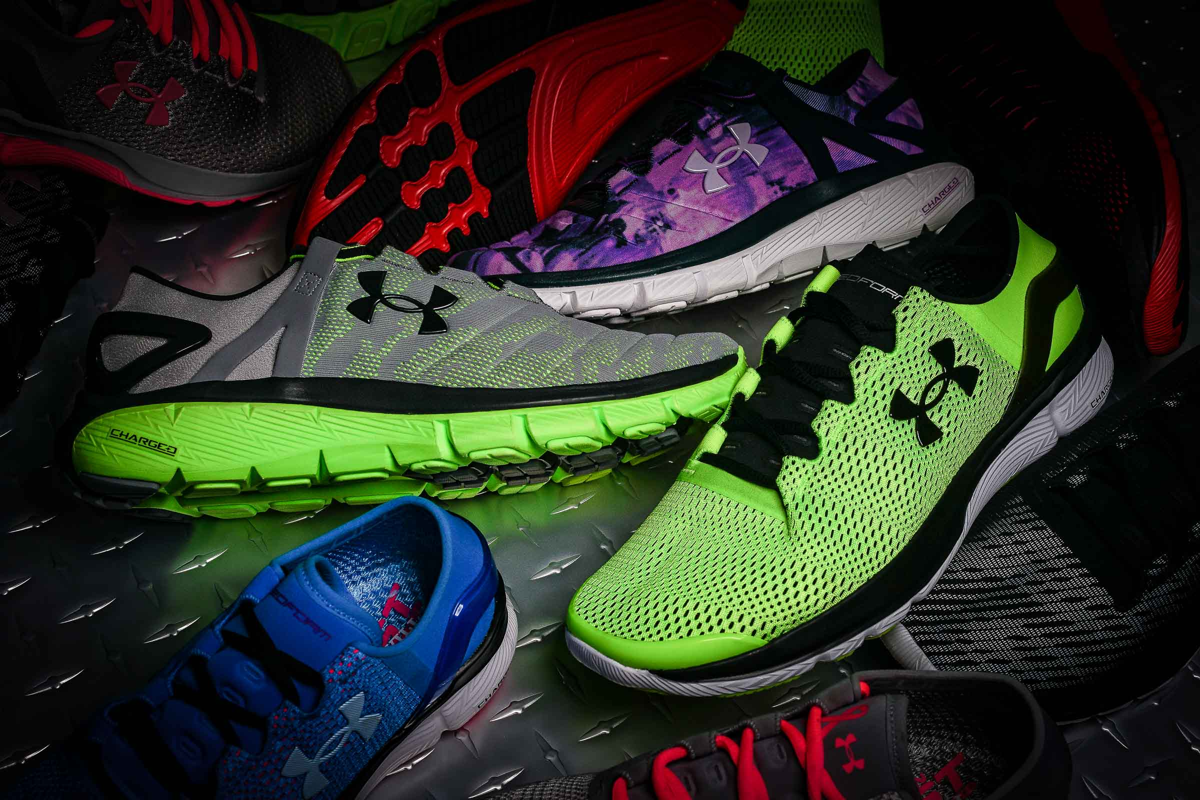 under armour charged cushioning
