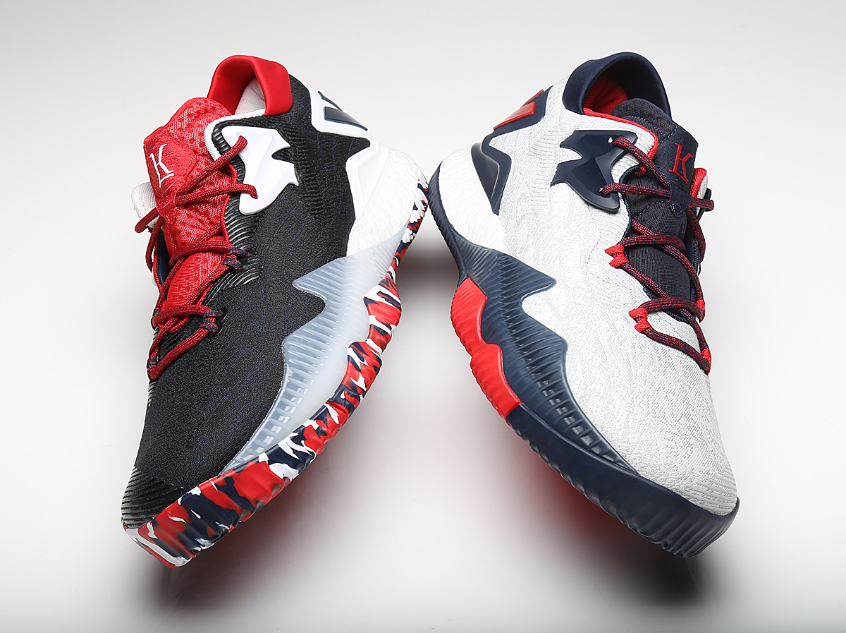 wholesale dealer 57537 d3798 Kyle Lowry USA Olympics adidas Crazylight Boost 2016 14