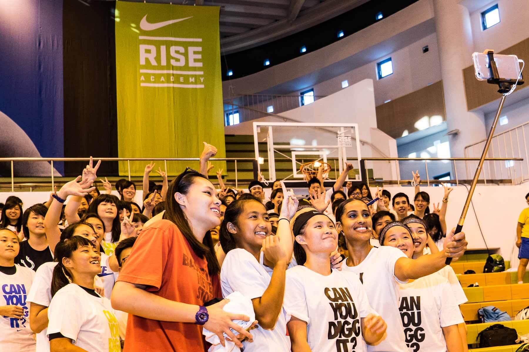 勘履直擊 / SKYLAR DIGGINS 台北籃球之旅 NIKE RISE ACADEMY 2016