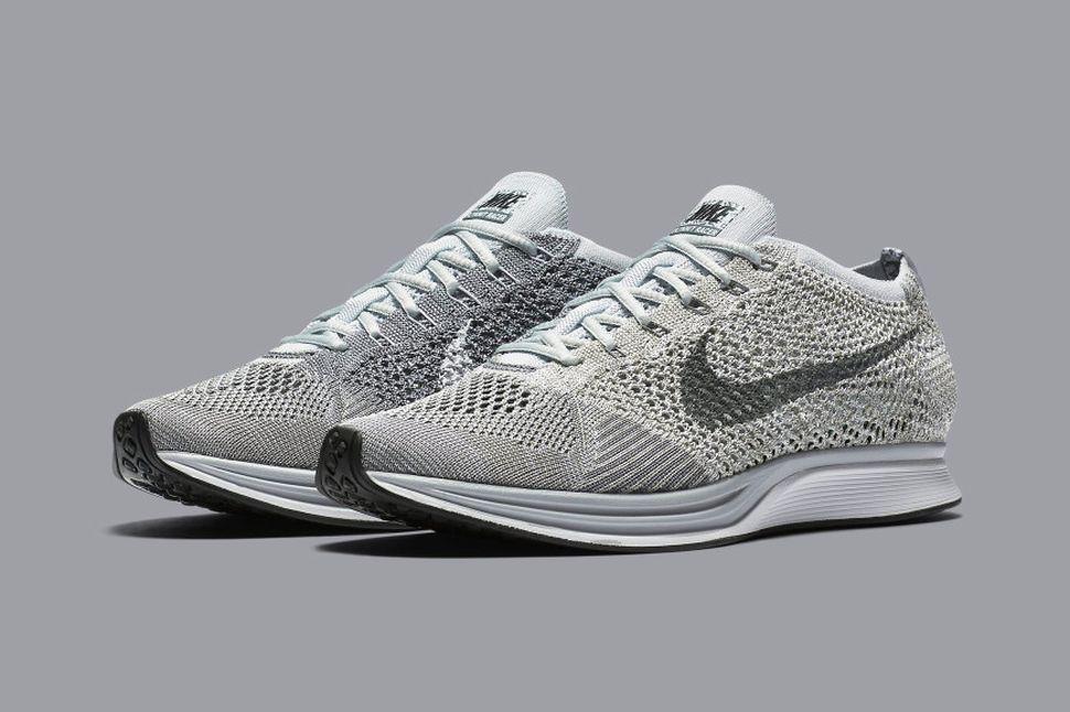 Nike Flyknit Racer 'Pure Platinum