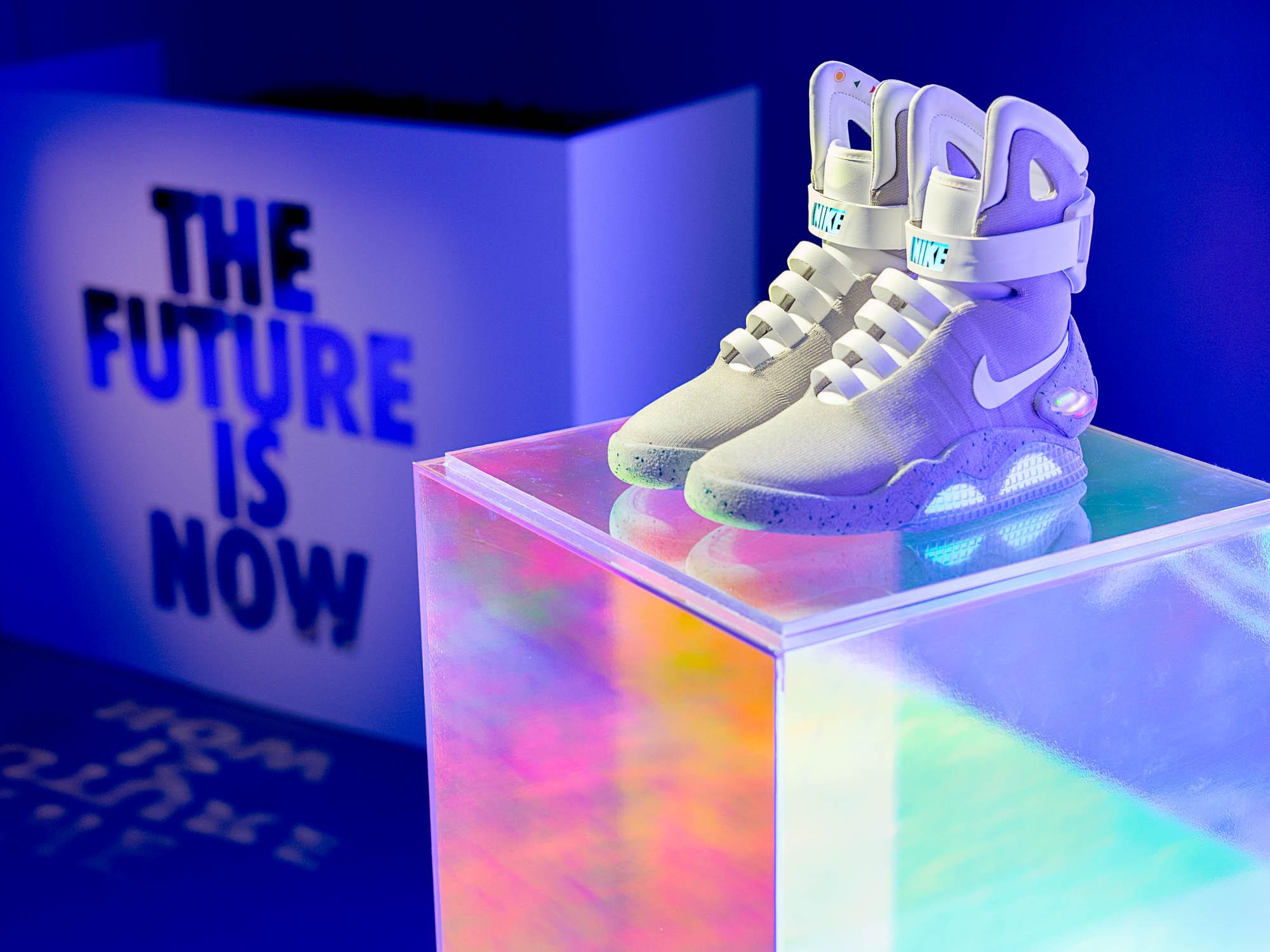 神鞋神價 / NIKE MAG 香港慈善義賣拍出八十一萬港幣 全數捐助帕金森氏症醫療研發