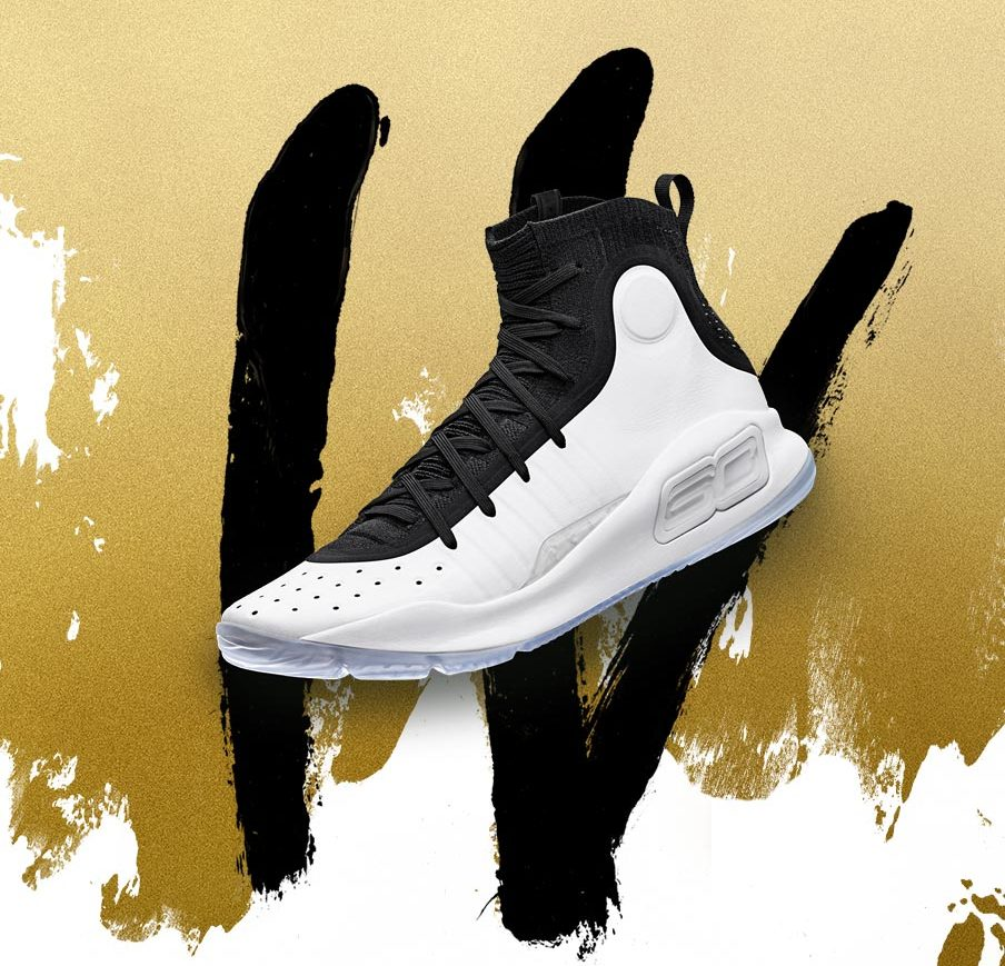 under armour-curry 4-wht blk-36