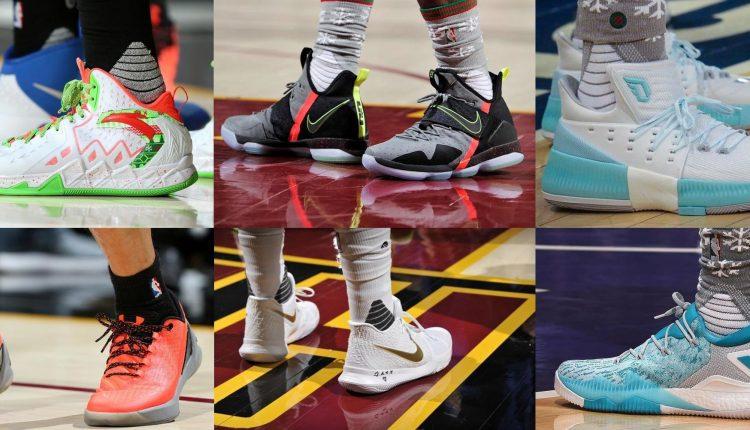 選手實著 / NBA 2016 聖誕大戰鞋款實著合輯