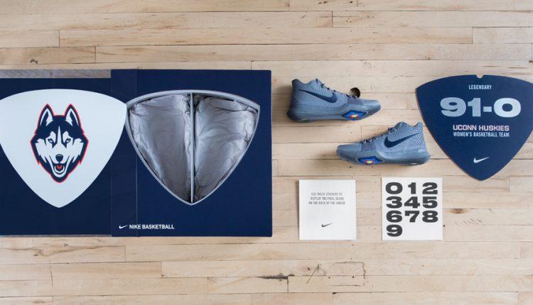 新聞分享 / 慶祝 UConn 女籃 91 連勝紀錄!Nike 發表 Kyrie 3 紀念套裝組