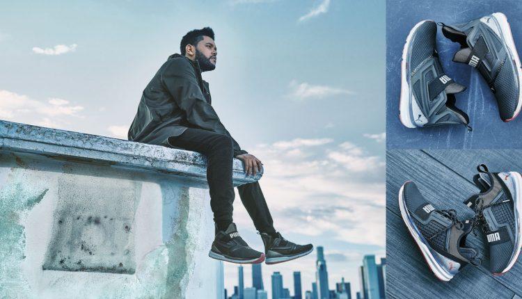 官方新聞 / The Weeknd 與 PUMA 掀起 2017 年首波攻勢 全新 IGNITE Limitless Hi-Tech 1/12 全球同步登場