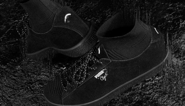 Black Rainbow x Puma Clyde Sock (2)