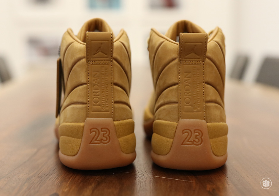 73f5ee82f24 psny air jordan 12 release date june 28 public school; psny x air jordan 12  retro wheat (3)