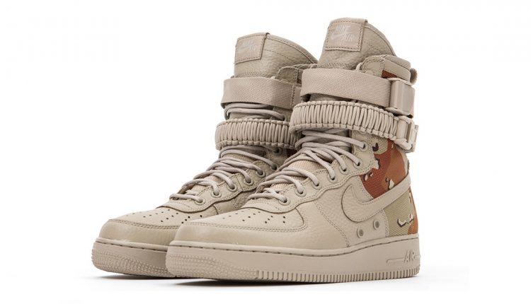上市速報 / Nike Special Field Air Force 1 'Desert Camo' 經銷商販售店點整理