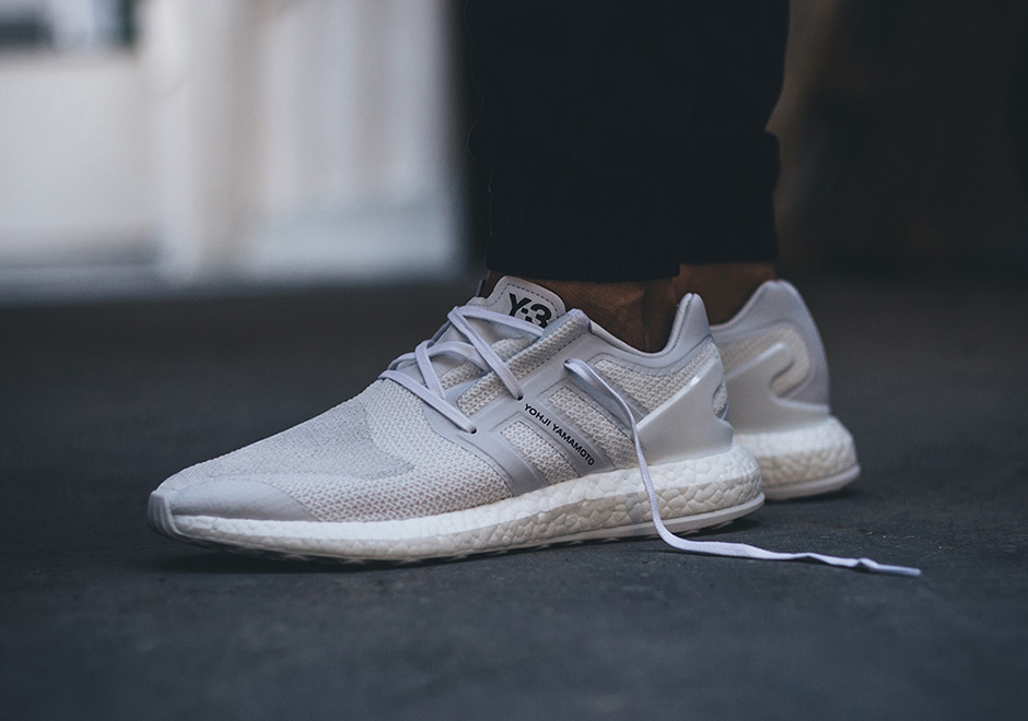 187a5a6963a40 ... adidas introduces the pure boost 2 sneakernews adidas y 3 pure boost  triple white kenlu