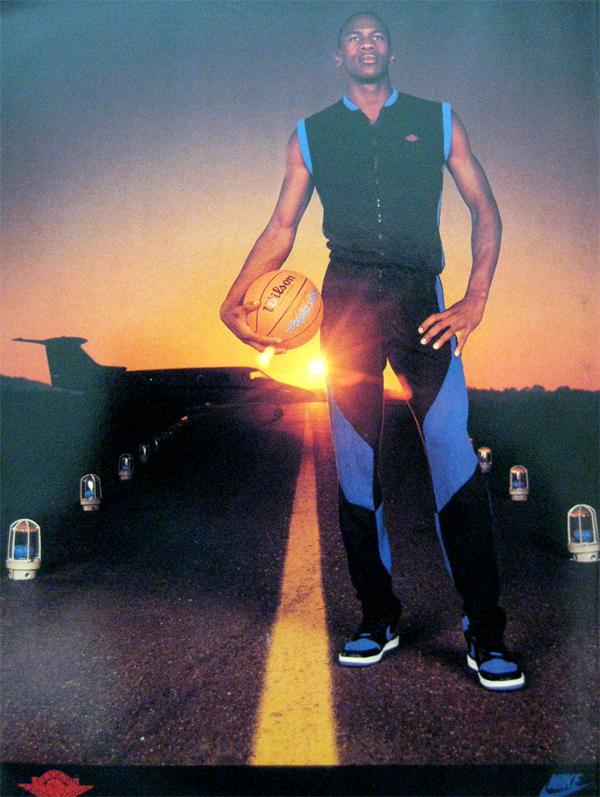 Michael Jordan Runway Nike Air Jordan Poster 1985 Kenlu Net